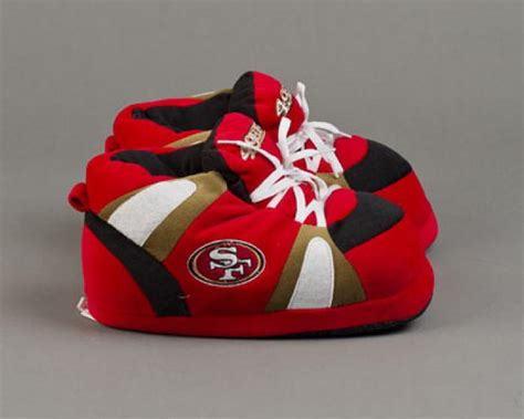 49ers slippers san francisco 49ers slippers sports team slippers