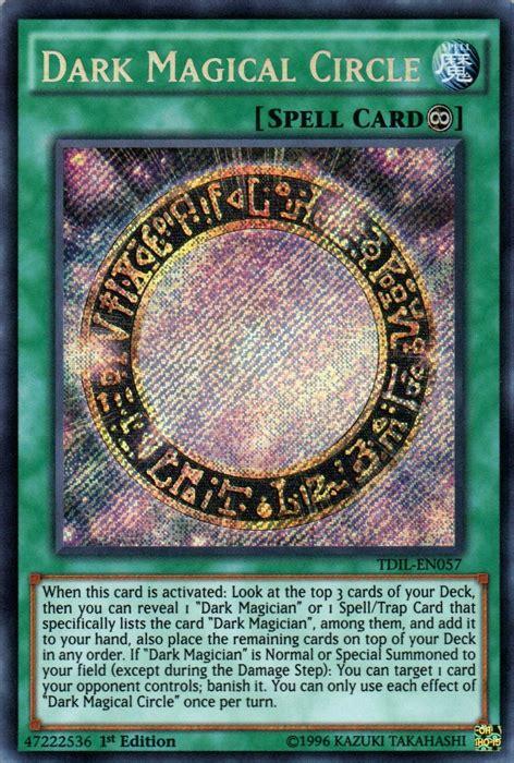 Yugioh Magical Secret magical circle tdil en057 secret 1st edition yu gi oh singles 187 arc v 187 the