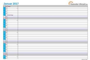 Kalender 2017 Monatsweise Kalender 2017 Zum Ausdrucken Kostenlos