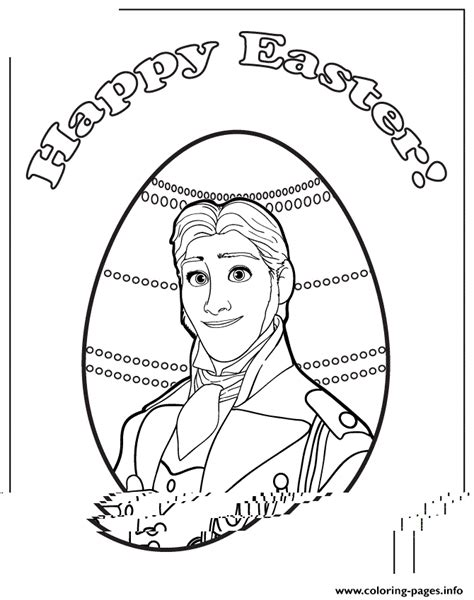 frozen coloring pages easter new frozen prince hans easter colouring page coloring