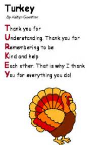 simple thanksgiving poem turkey acrostic poem thanksgiving crafts pinterest