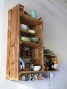 Diy Kitchen Furniture Diy Recycled Pallet Kitchen Cabinet Pallets Designs