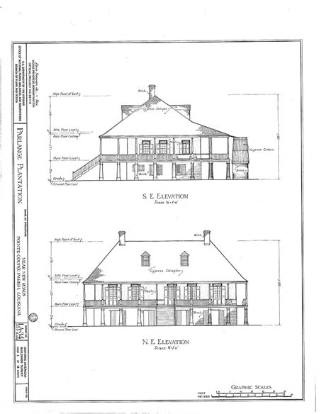 historic plantation house plans historic plantation house plans
