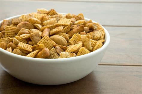 spicy cereal and nut mix recipe chowhound