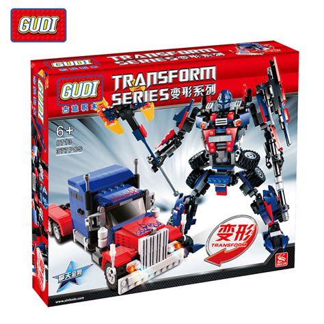 Bricks Robot 4 In 1 Combination Transform Toys Mainan Lb058 buy wholesale transformers lego from china