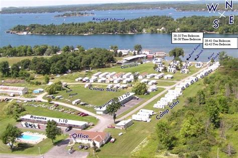 public boat launch st lawrence river lanz s motel cottages rv cground visit the 1000