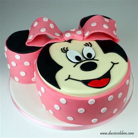 minnie maus kuchen rezept minnie mouse torte das s 252 223 e leben