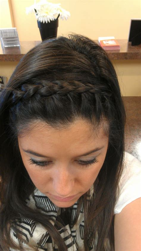 hairband style braid french braid headband hair beauty clothes
