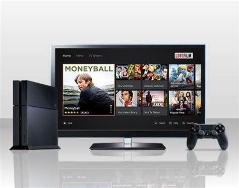film streaming ps4 lovefilm launches streaming app on ps4 171 gamingbolt com