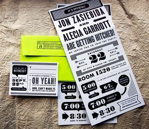 Best of 2011: Neon Wedding Invitations