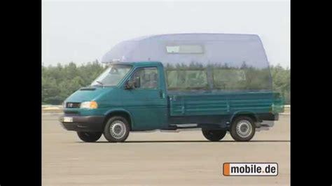 mobil de gebraucht wagen test volkswagen t4 ab 1999 2003 mobile de