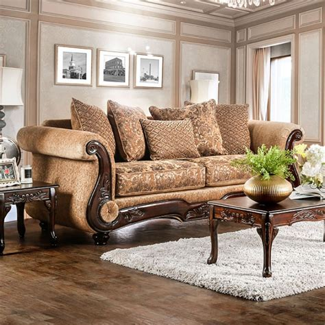 gold chenille sofa gold chenille sofa brown gold chenille clic living room