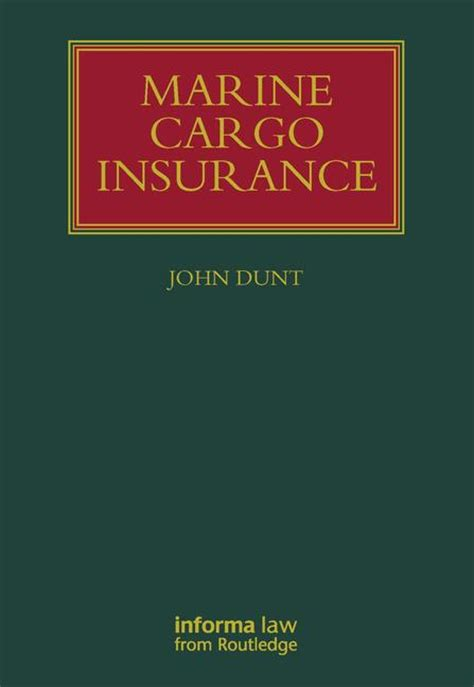 reference book of marine insurance clauses pdf marine cargo insurance hardback routledge
