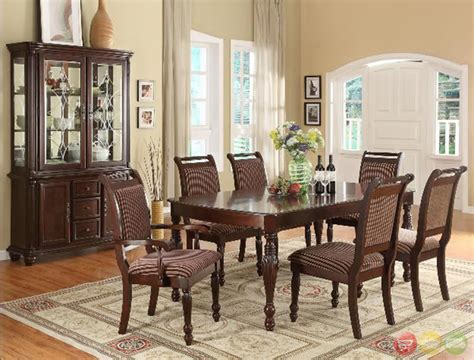 traditional dining room sets cherry tags traditional