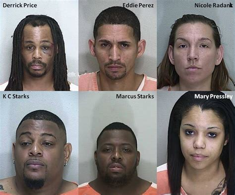 Ocala Department Warrant Search Ocala Post Ringleader Busted In Marion Oaks