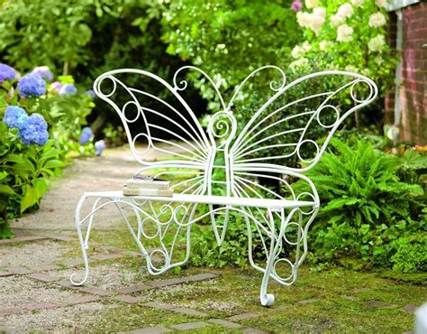 butterfly bench garden amazon com plow hearth weather resistant butterfly