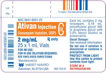 How To Detox From Lorazepam by Ativan Fda Prescribing Information Side Effects And Uses