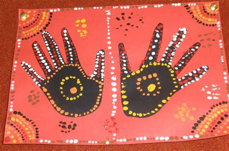 aboriginal craft for with mrs baker aboriginal print