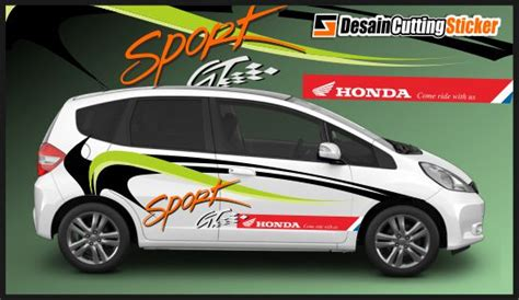 desain sticker distro jual cutting sticker honda jazz alkhaberbagi