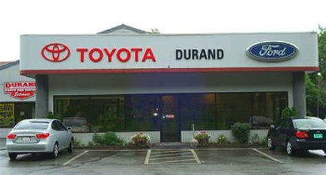Durand Toyota Durand Toyota Ford Westminster Vt 05158 Car