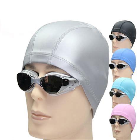 Topi Bayi Okiyo Accesoris topi renang elastis anti air gray jakartanotebook