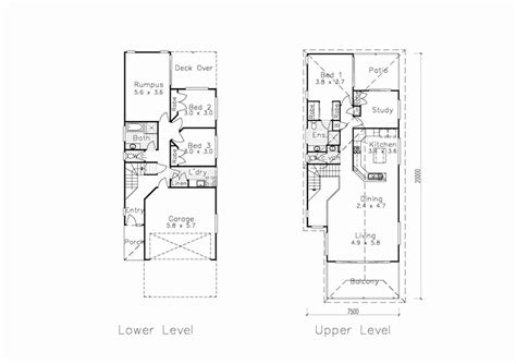30 Wide House Plans by 30 Wide House Plans