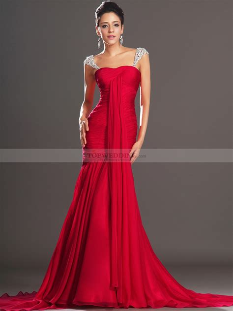 draped formal dress rhodante jewelled straps draped chiffon mermaid evening
