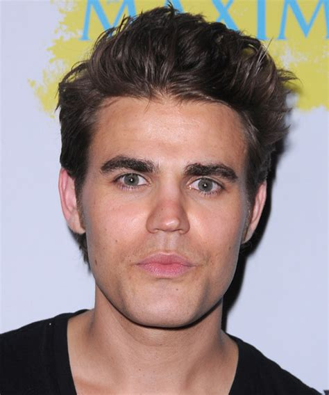 Paul Wesley Hairstyle by Paul Wesley Casual Hairstyle Chocolate