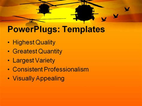 military powerpoint template images