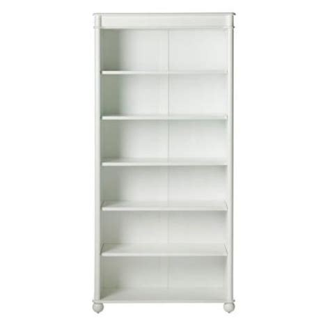 home decorators collection essex 68 5 in h white 6 shelf