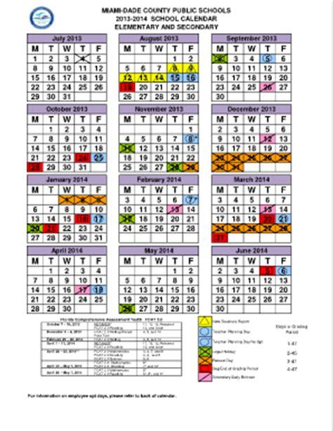 Calendario Escolar 2017 Miami Miami Dade School Calendar 2017 2018 Fill
