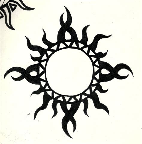 tattoo sun tribal 46 most amazing tribal sun designs patterns