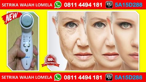 Setrika Wajah Lomela promo hp wa 0811 4494 181 perawatan wajah berminyak lomela