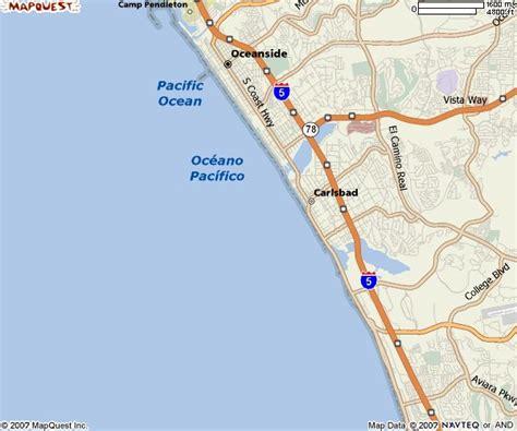 carlsbad map california southern california city maps orange county map