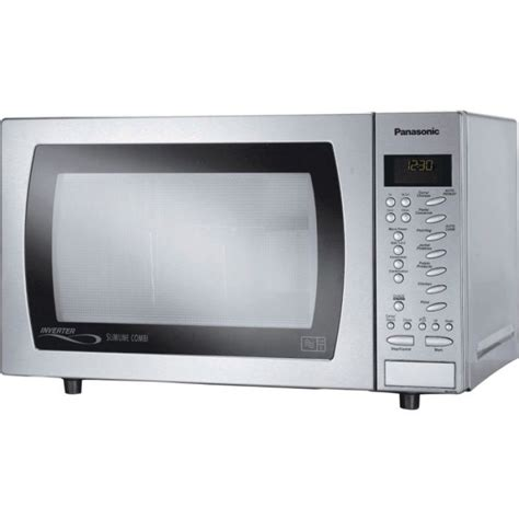 Oven Microwave Panasonic panasonic 27l slimline combination microwave 1000w stainless steel kitchen appliances
