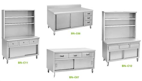kitchen cupboard stainless steel hotel restaurant kitchen