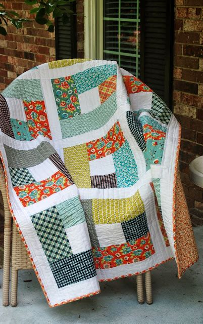 Simple Patchwork Patterns - 40 easy quilt patterns for the newbie quilter