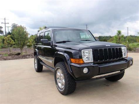 Gas Mileage 2006 Jeep Commander Buy Used 2006 Jeep Commander Limited Sport Utility 4 Door