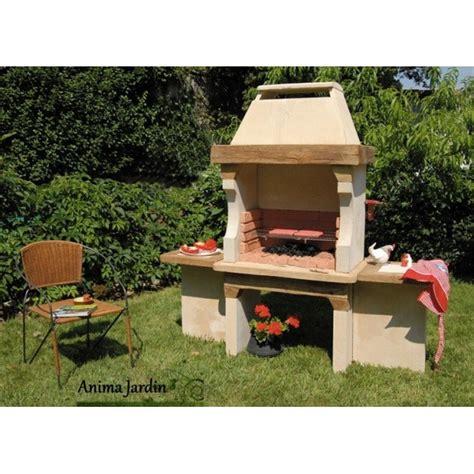 salon bas de jardin 1768 barbecue en hacienda pas cher charbon de bois