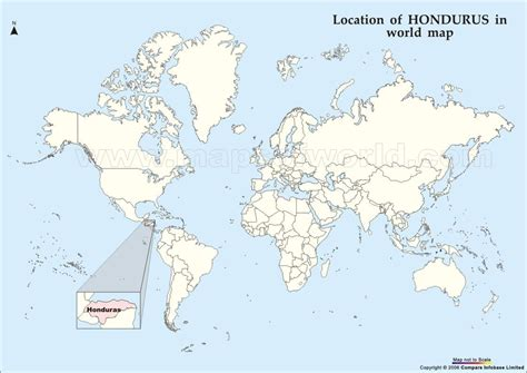 honduras on a world map where in the world is honduras not all who wander are lost