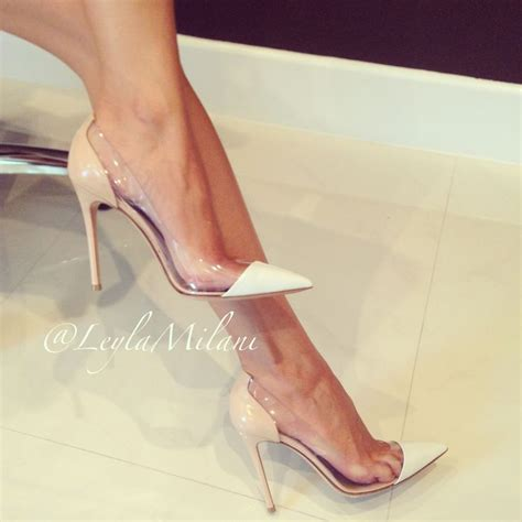 see through high heeled shoes gianvito the heels