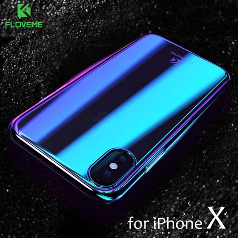 Casing Iphone X Alpinestar Custom Hardcase Cover floveme phone cases for iphone x luxury blue fashion mobile accessories gradient