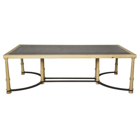 Giles Industrial Loft Slate Stone Wood Coffee Table Slate Coffee Table