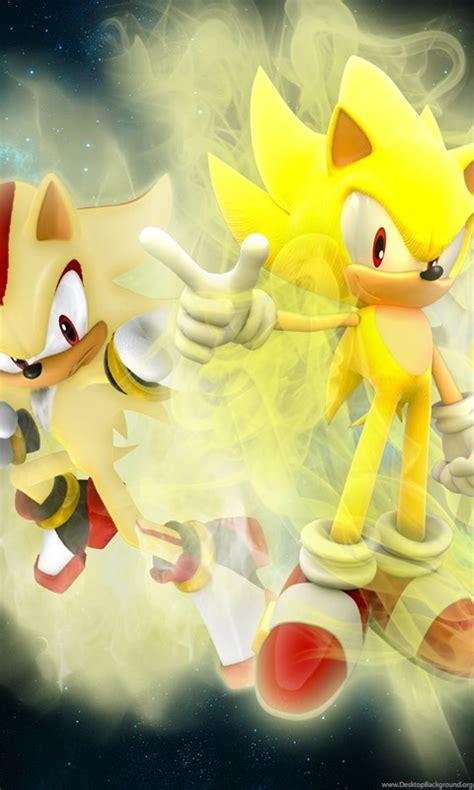 anime wallpaper sonic shadow  silver  hedgehog