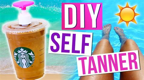 diy tanning easy diy starbucks self easy and inexpensive