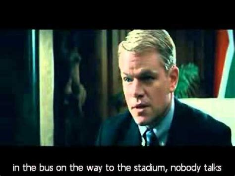 film invictus quotes powerful learning from this scene in invictus what is