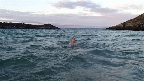 swing in the ocean swimming in the arctic ocean in november my final frontier