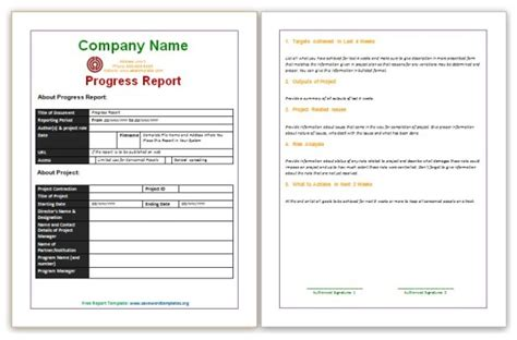 report templates free microsoft word report templates free free business template