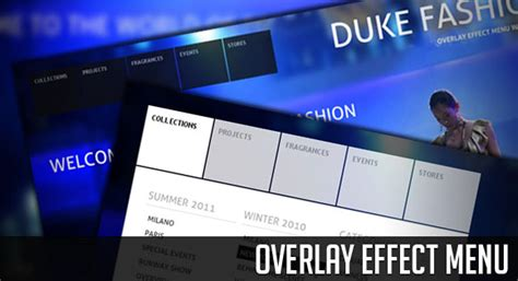css tutorial overlay overlay effect menu with jquery