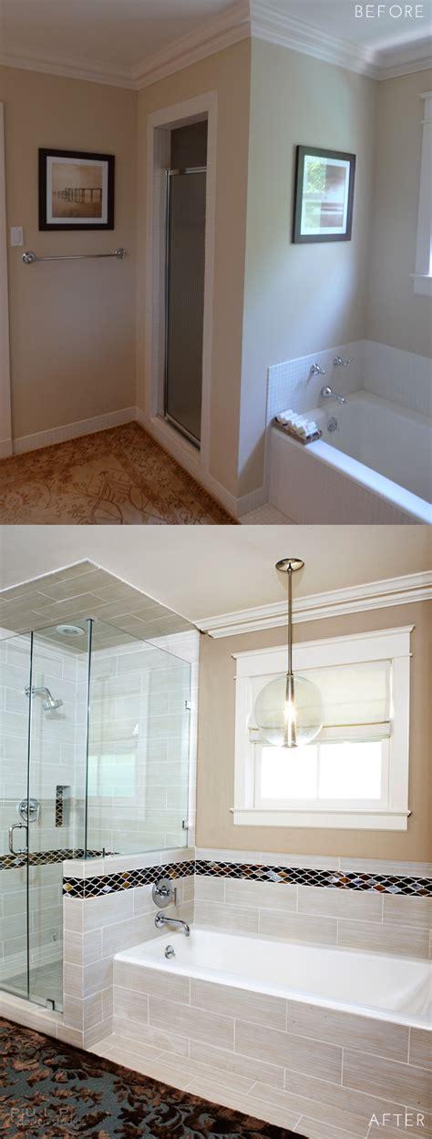 the klar family before and after master bathroom remodel before after elegant mod master suite renovation pulp